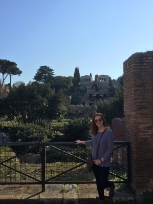 Visiting Palatine Hill in Rome
